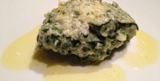 Malfatti mit Butter