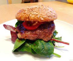 Roastbeef-Burger