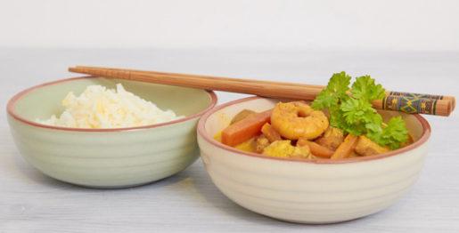 Hähnchen Garnelen Curry
