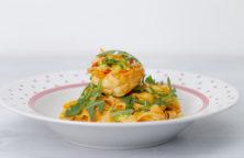 pasta-mit-garnelen-rucola