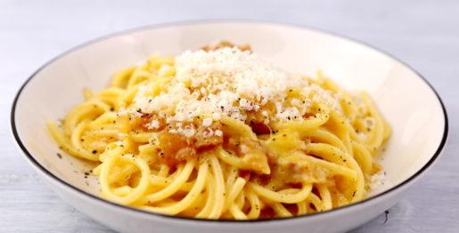 Spaghetti alla Carbonara original