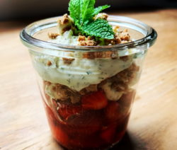 Erdbeeren Mascarpone Dessert