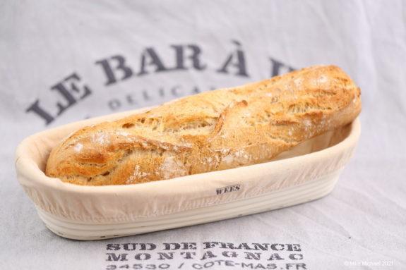 Echtes französisches Baguette